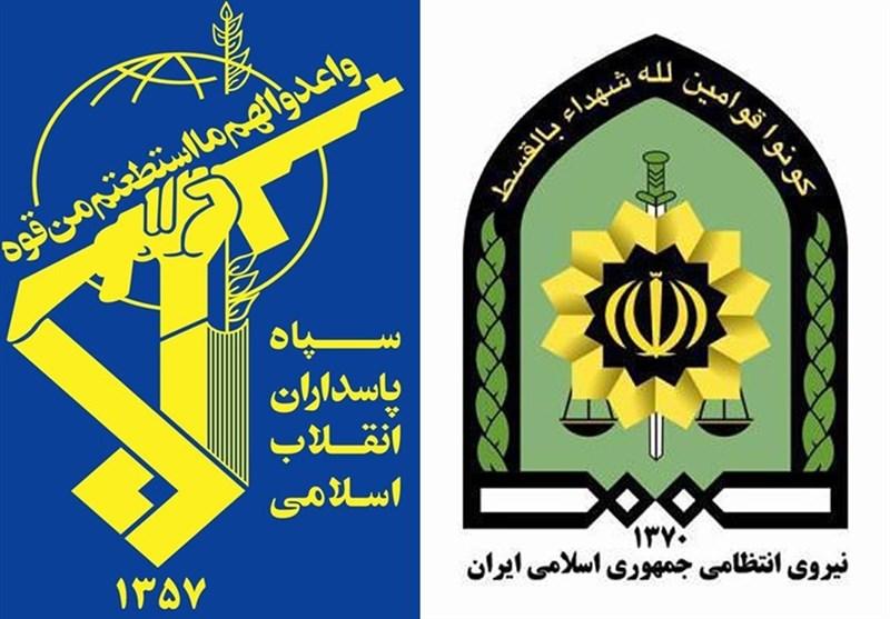 نیروی انتظامی: قدرت خیرهکنندهسپاه پاسداران سبب استیصال دشمنان شده است