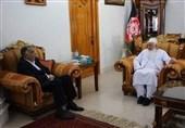 دیدار نماینده ویژه ظریف با مقامات افغانستان