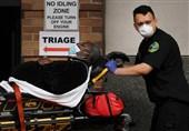 تلفات روزانه کرونا در آمریکا به بیش از 2 هزار نفر رسید