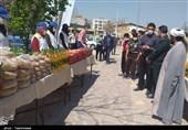 کمکهای مومنانه به ایستگاه پیشوا رسید/ 14 هزار بسته معیشتی و کارت هدیه بین نیازمندان توزیع شد + تصاویر
