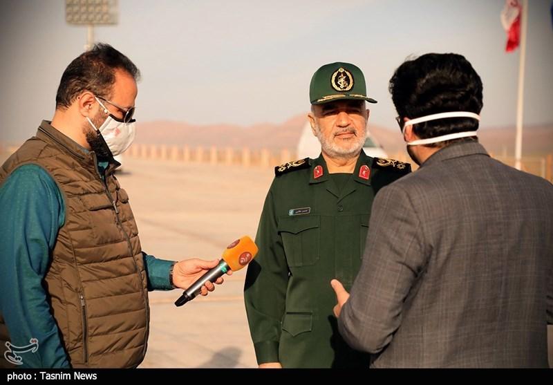 """سرلشکر سلامی: پرتاب موفقیتآمیز """"ماهواره نور"""" ابعاد جدیدی از قدرت دفاعی ایران را ارتقا بخشید"""