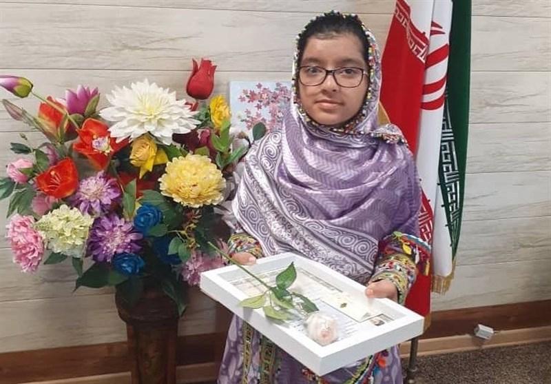 دختر نابغه فنوجی مشاور آموزش و پرورش در چابهار شد
