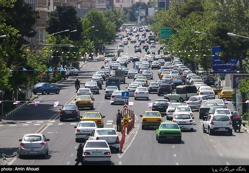 افزایش 6.1 درصدی تردد در جادههای کشور/ترافیک سنگین در آزادراه قزوین-کرج-تهران