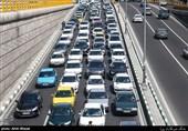 کاهش 33 درصدی تردد خودروها نسبت به مدت مشابه سال قبل
