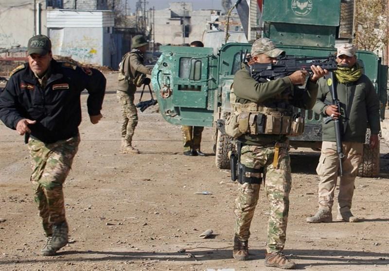 درگیری شدید حشد شعبی با داعش در شمال دیالی