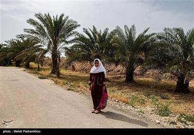 مدرسه ای در خوزستان که کرونا تعطیلش نکرد