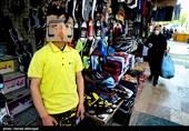 بازار تجریش در روزهای کرونایی