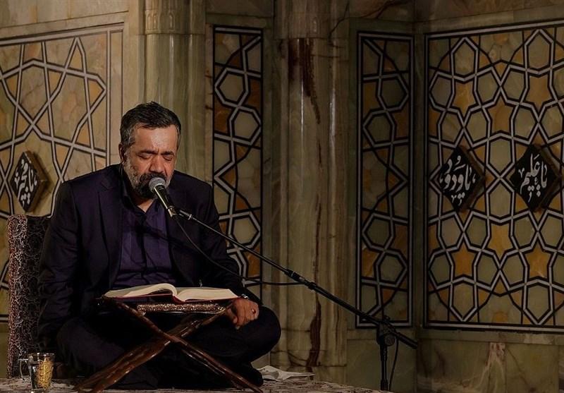 """محمود کریمی در حرم امام رضا (ع) """"مناجات شعبانیه"""" میخواند"""
