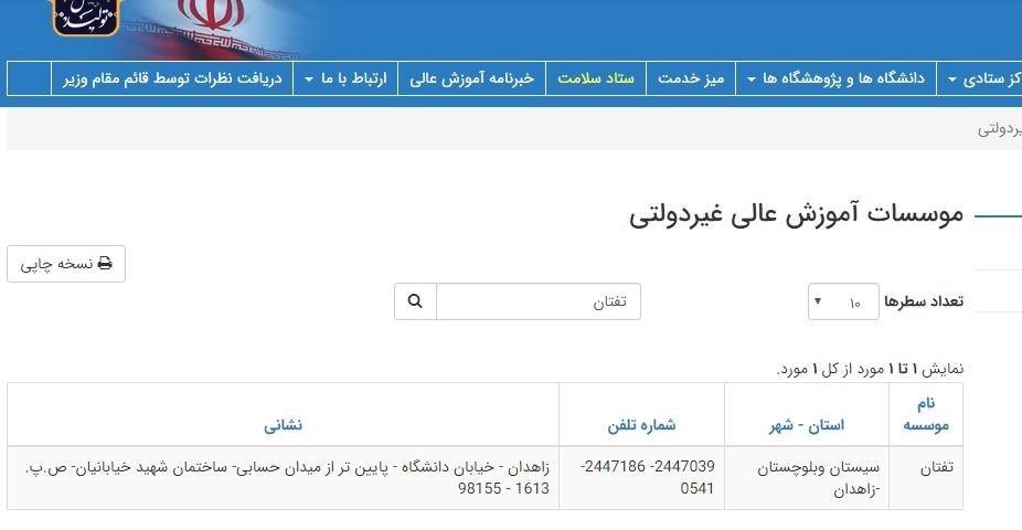 مجلس شورای اسلامی ایران , وزارت کشور جمهوری اسلامی ایران , وزارت علوم ,