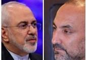 گفتگوی ظریف و حنیف اتمر درباره فرایند تفاهم سیاسی در افغانستان