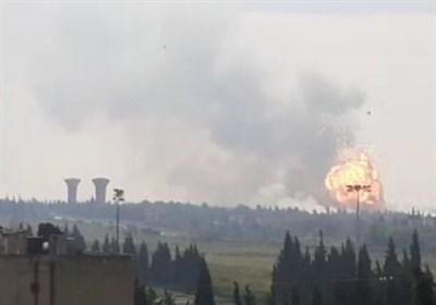 زخمی شدن ۸ نفر بر اثر انفجار بمب در حمص
