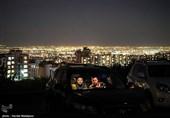 اکران فیلم خروج به کارگردانی ابراهیم حاتمیکیا در سینما ماشین - برج میلاد تهران