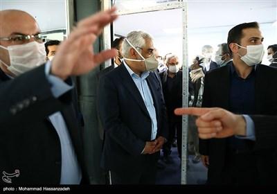 محمدمهدی طهرانچی رئیس دانشگاه آزاد اسلامی در مراسم افتتاح اولین سرای نوآوری و شتابدهی توسعه صنایع منطقهای