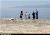 گزارش| امید حیات به نگین آبی آذربایجان برگشت / دریاچه ارومیه این روزها حال خوشی دارد