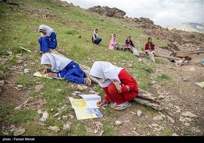 معلم فداکار روستای میرمینگه - کرمانشاه