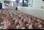 توزیع 3500 بسته معیشتی کمکهای مومنانه شهرستان اردستان به روایت تصویر