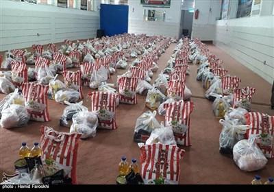 تهیه ۱۰ هزار بسته غذایی توسط جهادگران در سازمان بسیج دانشجویی