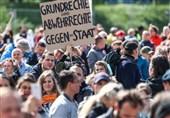 اعتراضات گسترده علیه محدودیتهای کرونایی در برلین و اشتوتگارت