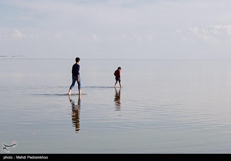 آخرین وضعیت دریاچه ارومیه / حجم آب 11 درصد کاهش یافت
