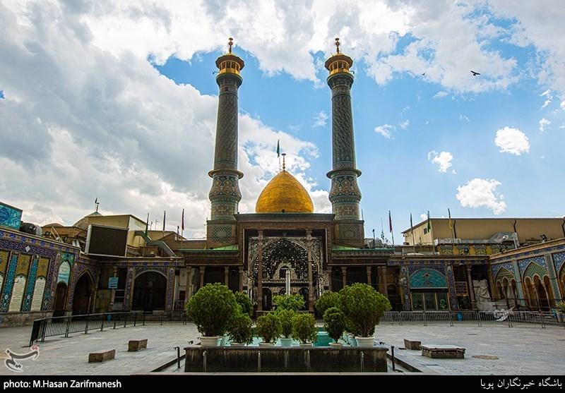 دربهای آستان عبدالعظیم حسنی(ع) به روی زائران باز میشود