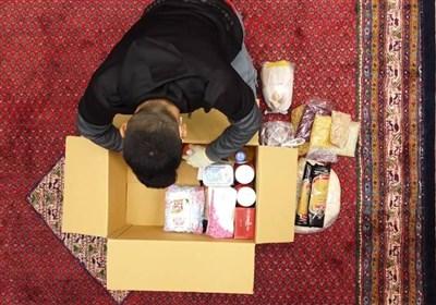 ضیافت همدلی در هیئت محبانالرضا(ع) / توزیع افطاری ساده به نیازمندان منطقه ۱۰ تهران