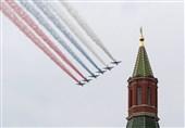 """رژه ناوگان هوا-فضای روسیه به افتخار """"روز پیروزی"""""""