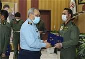مراسم دانش آموختگی خلبانان پایگاه شهید بابایی نهاجا برگزار شد
