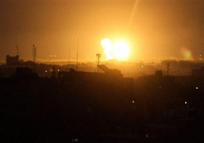 حمله هوایی و توپخانهای رژیم صهیونیستی به شمال غزه