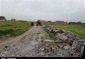 20 مورد ساختوساز غیرمجاز در حمیدآباد شهرستان ری تخریب شد