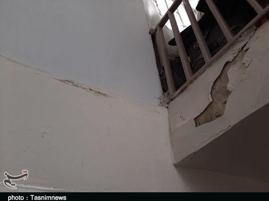 خسارت زلزله در خرمآباد به روایت تصویر