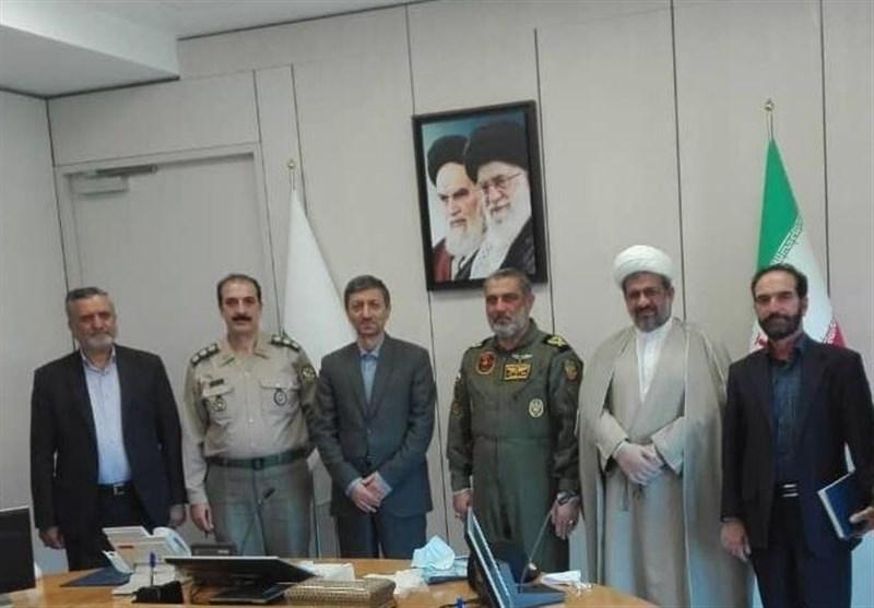 فرمانده هوانیروز ارتش با رییس بنیاد مستضعفان دیدار کرد