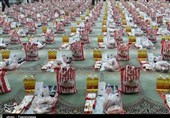 توزیع 2500 بسته معیشتی توسط پایگاه شهید دوران نهاجا