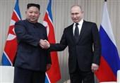 """پیام تبریک کیم جونگ اون به پوتین بهمناسبت """"روز پیروزی"""""""