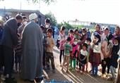 آتش به اختیاری دیگر در کورهپزخانههای پاکدشت؛ طلاب جهادگر 2000 پرس غذا توزیع کردند+ تصاویر