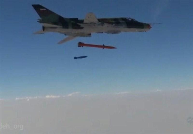 فیلم تجهیز جنگنده های سوخو22 سپاه به موشک جدید منتشر شد
