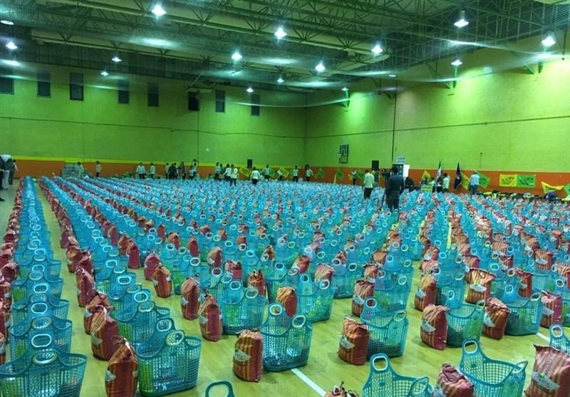 تهیه 1000 بسته معیشتی به مناسبت ولادت امام حسن (ع) در منطقه 4 تهران+ تصاویر