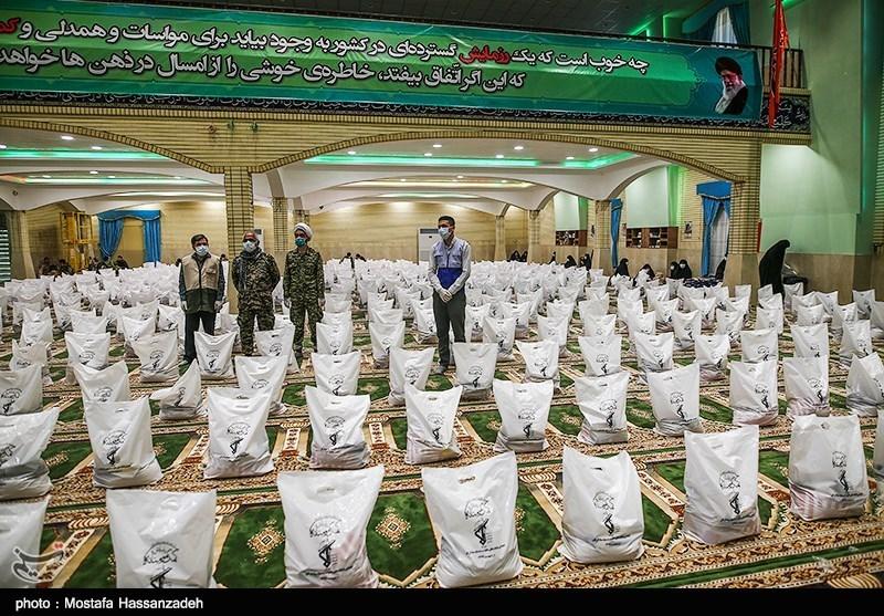 آغاز رزمایش کمک مومنانه سپاه گلستان ویژه ماه مبارک رمضان /30000 بسته معیشتی در استان توزیع میشود