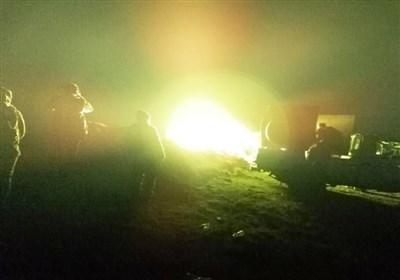 عراق  حشد شعبی حمله موشکی تروریستها در صحرای الانبار را خنثی کرد