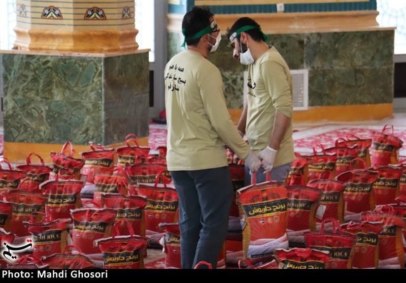 4 هزار بسته معیشتی توسط بسیج دانشجویی استان میان نیازمندان قمی توزیع شد