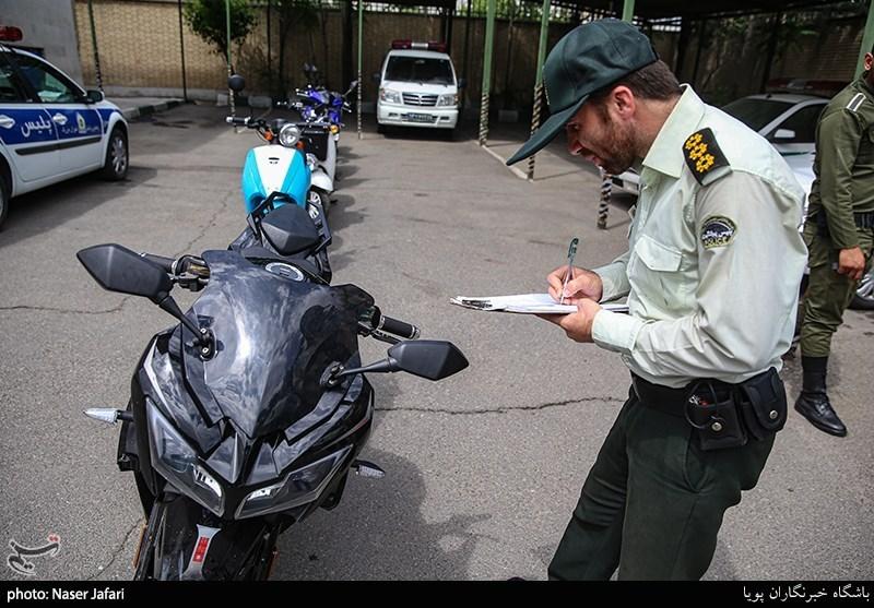 تعیین تکلیف موتورسیکلتهای مکشوفه به ظن قاچاق+سند