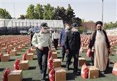 """برگزاری رزمایش """"همدلی مؤمنانه"""" توسط نیروی انتظامی در 31 استان"""