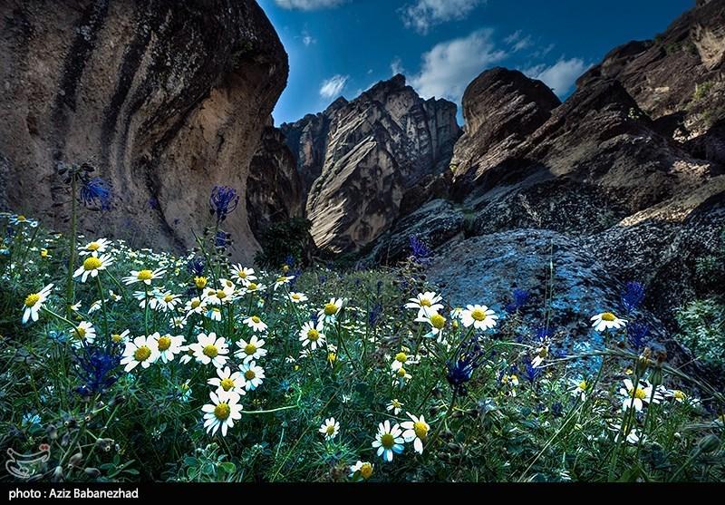 Mehrabkooh Mountain in Iran's Lorestan