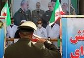 ادای احترام فرمانده دژبان ارتش به مدافعان سلامت در مسیح دانشوری