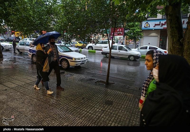 آبگرفتگی برخی معابر و واکنش شهرداری تهران + فیلم