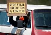 تداوم اعتراض آمریکاییها به وضعیت بحرانی زندانها/ ابتلای 20 هزار زندانی به کرونا+تصاویر