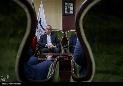 حضور مدیر عامل ذوب آهن اصفهان در خبرگزاری تسنیم