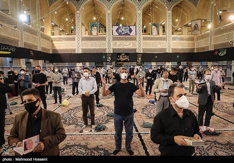 مراسم احیای شب نوزدهم ماه رمضان در مهدیه تهران