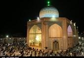 گزارش تصویری مراسم احیاء شب نوزدهم ماه مبارک رمضان در قزوین