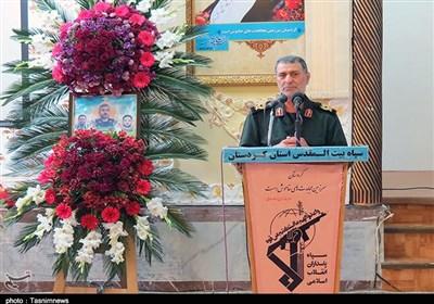 فرمانده سپاه کردستان: دشمنان با راهاندازی جنگ مذهبی و قومیتی دنبال توطئه جدید هستند
