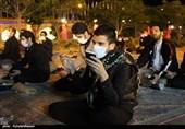برگزاری مراسم احیا شب 19 ماه رمضان در کاشان به روایت تصویر